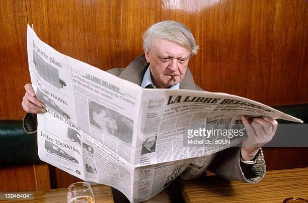 Anthony Burgess in January 1987 Author of 'A Clockwork Orange'