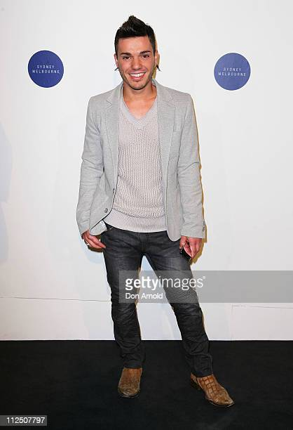 Anthony Callea attends the Zara Sydney Store Opening at Westfield Pitt Street Mall on April 19 2011 in Sydney Australia
