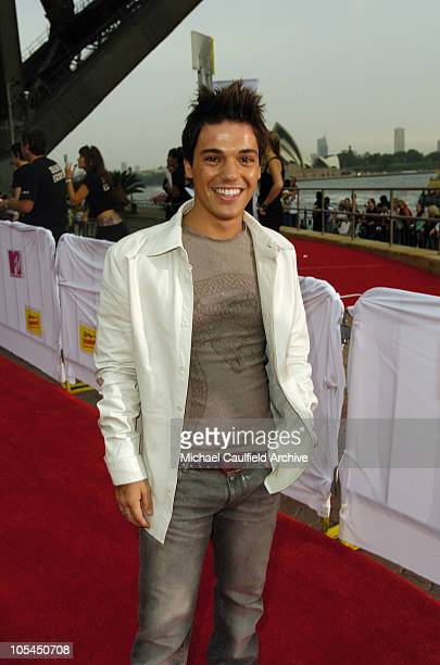 Anthony Callea during 2005 MTV Australia Video Music Awards Red Carpet at Luna Park in Sydney New South Wales Australia