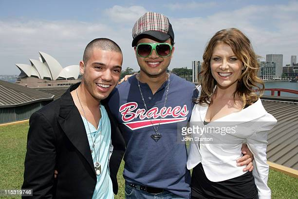 Anthony Callea Guy Sebastian and Natalie Bassingthwaighte