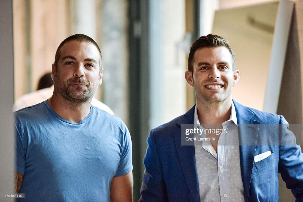 anthony carrino l and john colaneri attend the aol build speaker series presents - John Colaneri