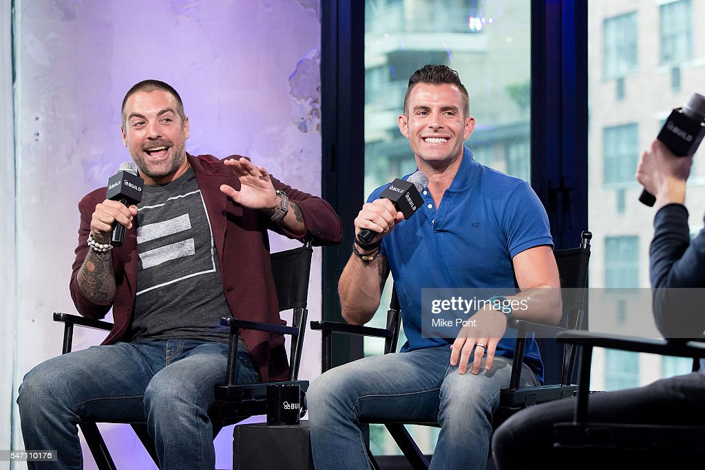 anthony carrino l and john colaneri attend the aol build speaker series to discuss - John Colaneri