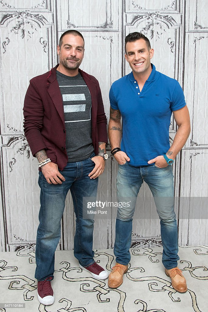 Anthony carrino and john colaneri attend the aol build speaker series