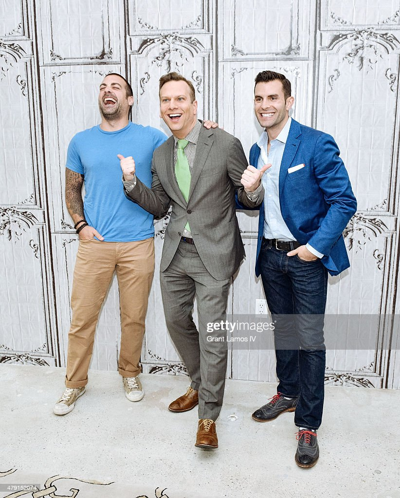 anthony carrino brian balthazar and john colaneri attend the aol build speaker series presents - John Colaneri