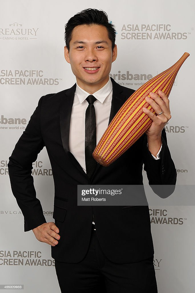 Anthony Chen poses for a portrait during the Asia Pacific Screen Awards (APSA) at Brisbane City Hall on December 12, 2013 in Brisbane, Australia.