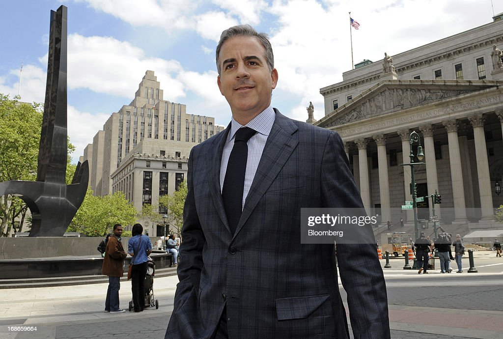 Anthony Chiasson, co-founder of Level Global Investors LP, exits federal court following a sentencing hearing in New York, U.S., on Monday, May 13, 2013. Chiasson was sentenced to 6 1/2 years in prison for using illegal tips funneled to him from analysts and company insiders to make $68 million for his hedge fund. Photographer: Peter Foley/Bloomberg via Getty Images