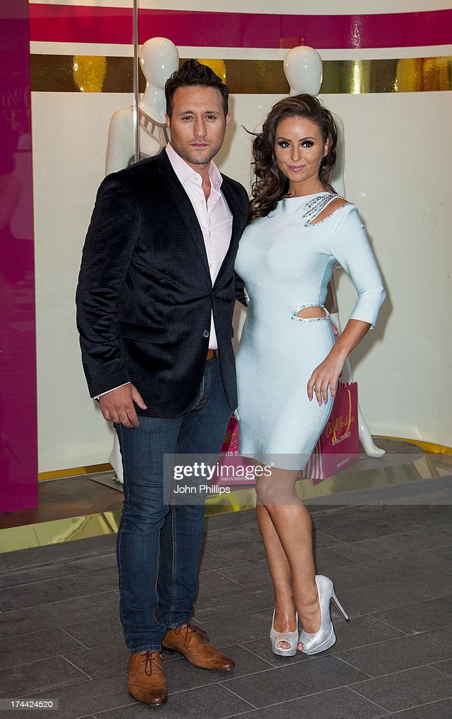 Anthony Costa attends the store launch party at CelebBoutique, Westfield Stratford City on July 25, 2013 in London, England.