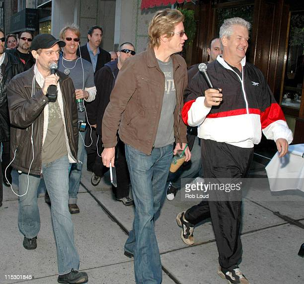 Anthony Cumia Denis Leary and Lenny Clarke during Denis Leary with Opie and Anthony May 23 2006 in New York City New York United States