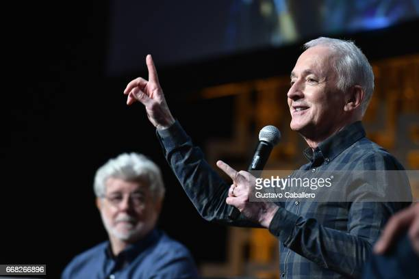 Anthony Daniels attends the Star Wars Celebration Day 1 on April 13 2017 in Orlando Florida