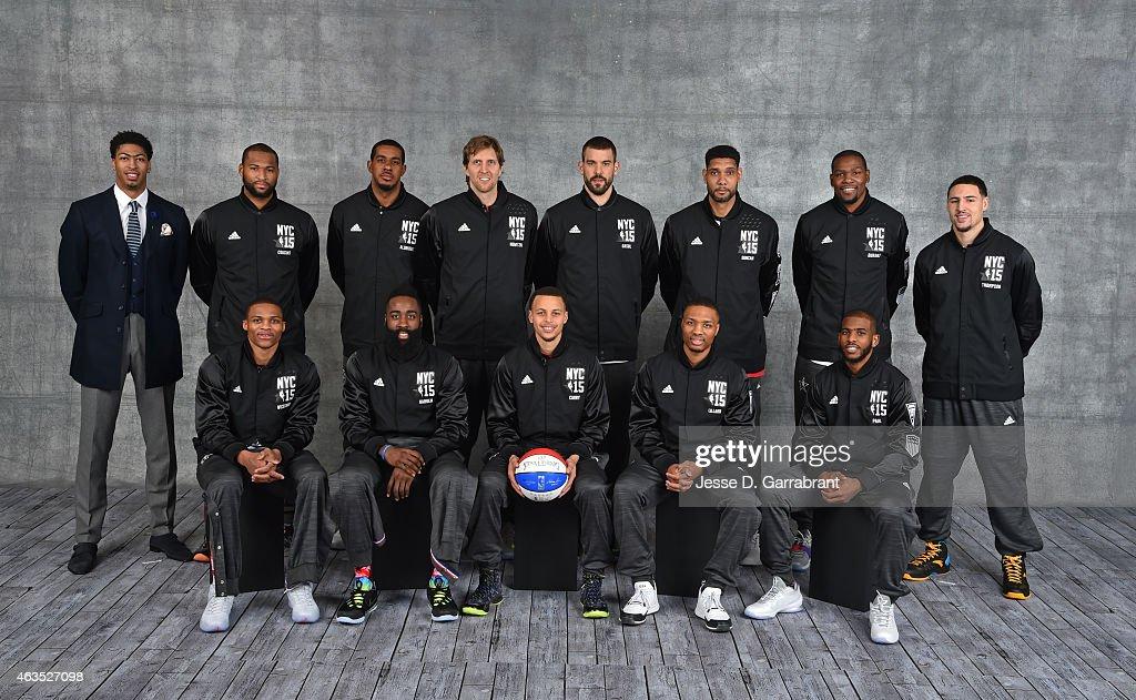 ¿Cuánto mide Dirk Nowitzki? - Real height Anthony-davisdemarcus-cousins-lamarcus-aldridgedirk-nowitzkimarc-tim-picture-id463527098