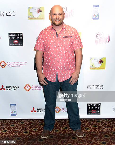Anthony Dell arrives at Premiere Party For 'Liv Out Loud' at Akbar on September 14 2015 in Los Angeles California