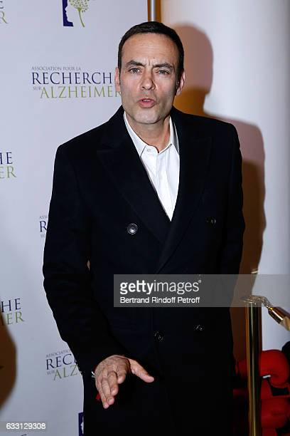 Anthony Delon attends the Charity Gala against Alzheimer's disease at Salle Pleyel on January 30 2017 in Paris France