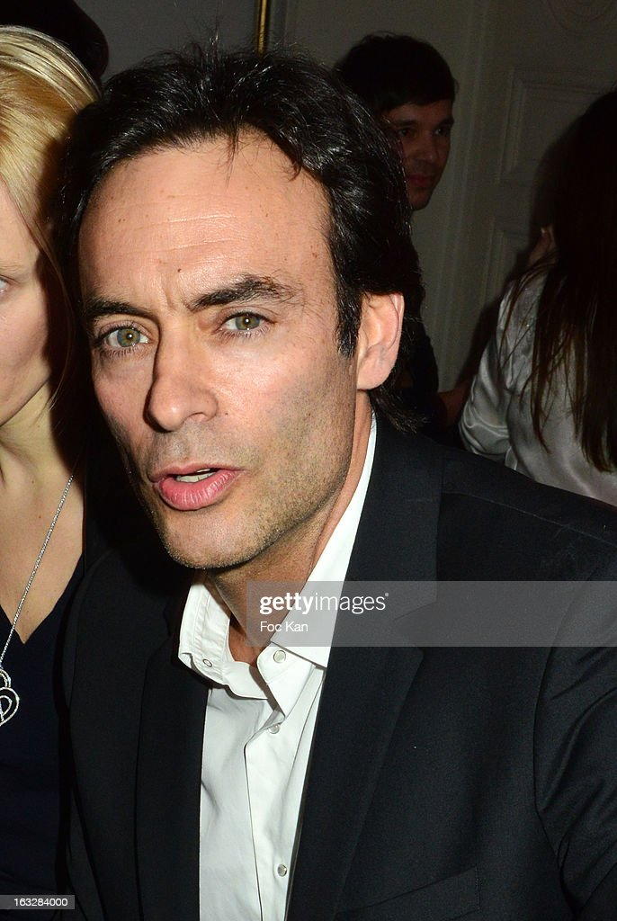 Anthony Delon attends the Jitrois - Front Row - PFW F/W 2013 at Hotel Saint James & Albany on March 6, 2013 in Paris, France.