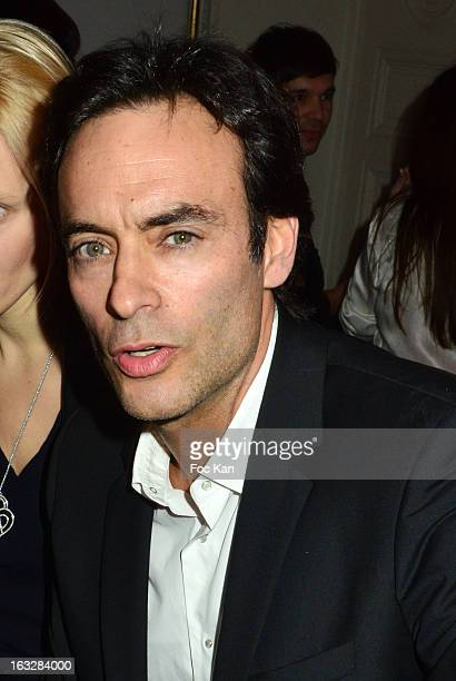 Anthony Delon attends the Jitrois Front Row PFW F/W 2013 at Hotel Saint James Albany on March 6 2013 in Paris France