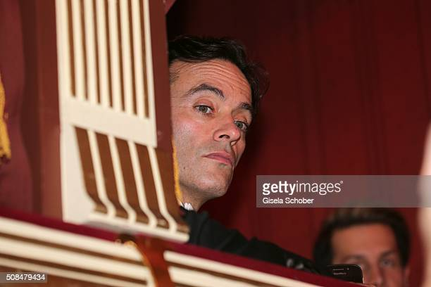 Anthony Delon son of Alain Delon during the Opera Ball Vienna 2016 at Vienna State Opera on February 4 2016 in Vienna Austria