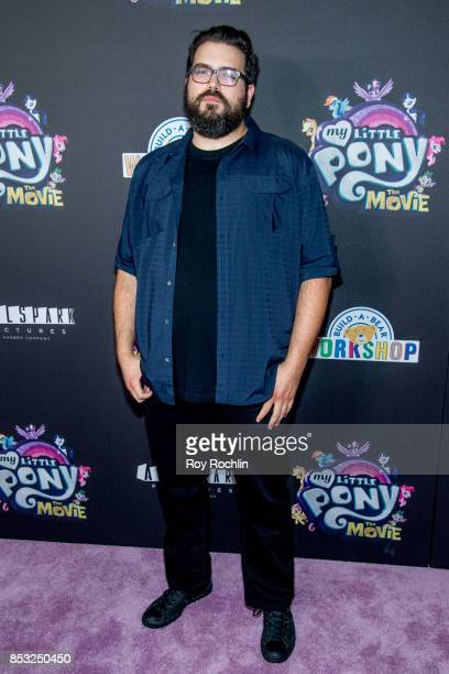 Anthony Di Ninno attends 'My Little Pony The Movie' New York screening at AMC Lincoln Square Theater on September 24 2017 in New York City