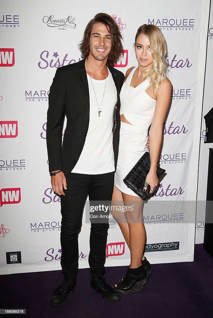 Anthony Drew and Tully Smyth appear at Marquee Nightclub on November 15, 2013 in Sydney, Australia.