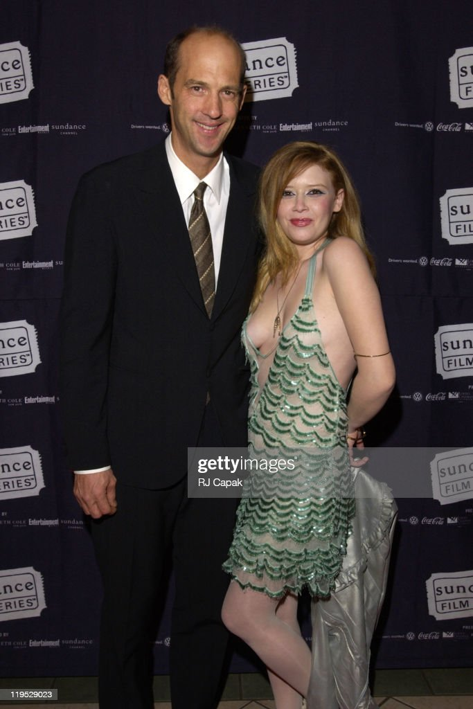 Anthony Edwards and Natasha Lyonne during 'Die Mommie Die' New York Premiere at Loew's 34th Street in New York City New York United States