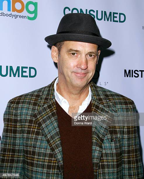 Anthony Edwards attends the 'Consumed' New York Premiere at AMC Loews 19th Street Theater on November 18 2015 in New York City
