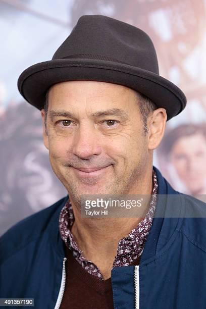 Anthony Edwards attends the 'Pan' premiere at Ziegfeld Theater on October 4 2015 in New York City