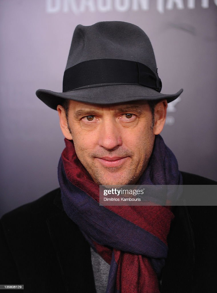 Anthony Edwards attends the 'The Girl With the Dragon Tattoo' New York premiere at Ziegfeld Theater on December 14, 2011 in New York City.