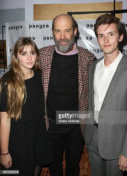 Anthony Edwards with daughter Esme and son Bailey attend the OffBroadway Opening Night After Party for 'A Month In The Country' at Pangea Restaurant...