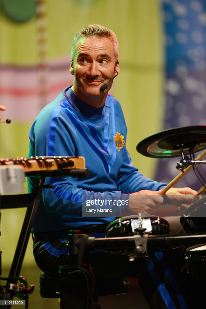 Anthony Field of The Wiggles performs at Fillmore Miami Beach on August 3, 2012 in Miami Beach, Florida.