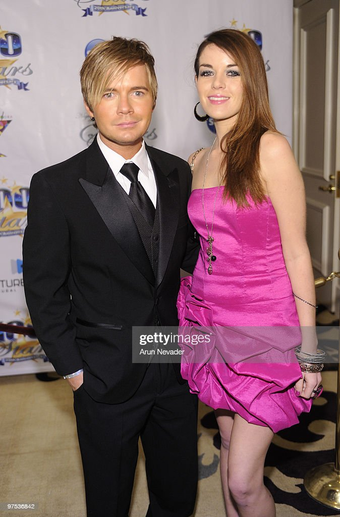 Anthony Fitzgerald and Jade Ramsey attend The 20th Annual Night Of 100 Stars Awards Gala at Beverly Hills Hotel on March 7 2010 in Beverly Hills...