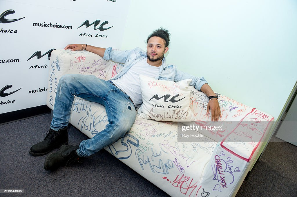 Anthony Flammia visits Music Choice on April 28, 2016 in New York City.