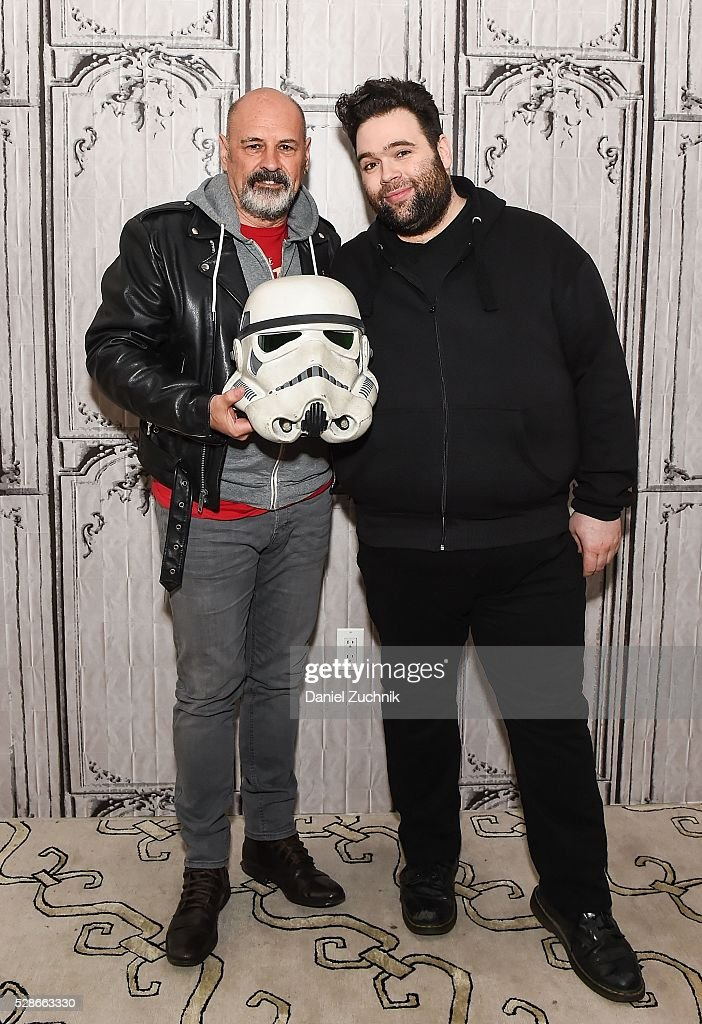 Anthony Forrest and Jon Spira attend AOL Build to discuss 'ELSTREE 1976' on May 06, 2016 in New York, New York.