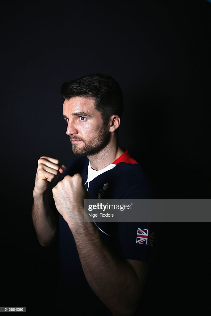 Anthony Fowler of Great Britain during the Announcement of Boxing Athletes Named in Team GB for the Rio 2016 Olympic Games at the Institute of Sport on June 30, 2016 in Sheffield, England.