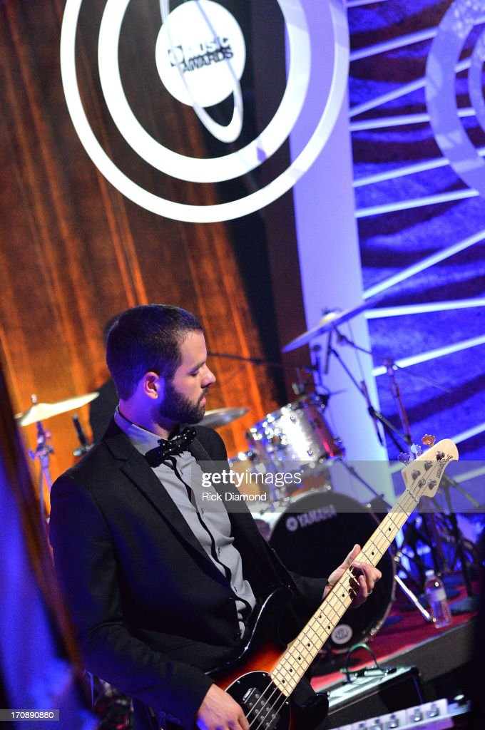 Anthony Genca of Dinner and a Suit performs during the MTV, VH1, CMT & LOGO 2013 O Music Awards at the CMT office on June 19, 2013 in Nashville, Tennessee.