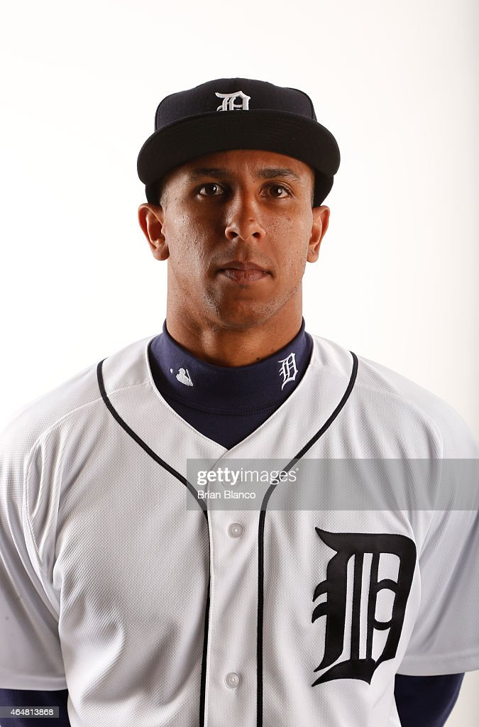 <a gi-track='captionPersonalityLinkClicked' href=/galleries/search?phrase=Anthony+Gose&family=editorial&specificpeople=6906091 ng-click='$event.stopPropagation()'>Anthony Gose</a> #12 of the Detroit Tigers poses for a photo during the Tigers' photo day on February 28, 2015 at Joker Marchant Stadium in Lakeland, Florida.