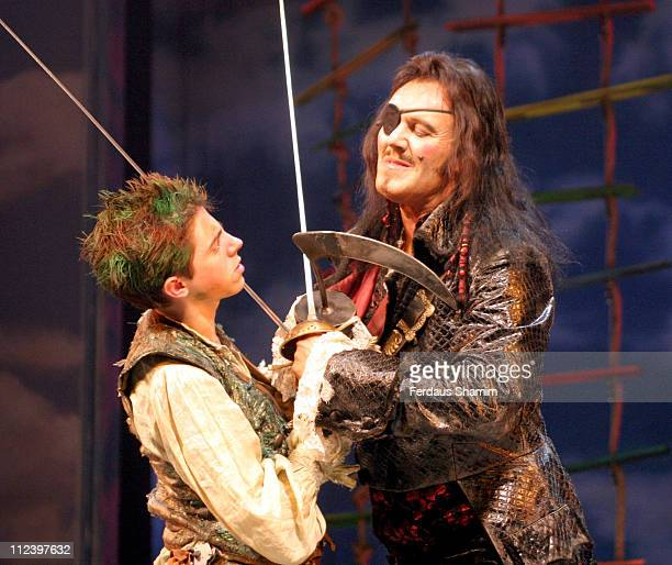 Anthony Head and cast member during 'Peter Pan' Opens in London Starring Anthony Head at Savoy Theatre in London Great Britain