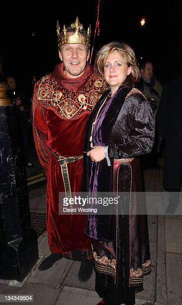 Anthony Head and guest during Matt Lucas and Kevin McGee Reception London Photocall at Banqueting House Whitehall Place in London Great Britain