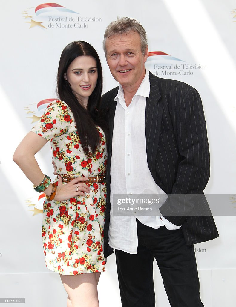 Anthony Head and Katie McGrath attends Photocall for 'The Adventures Of Merlin' during the 51st Monte Carlo TV Festival on June 10, 2011 in Monaco, Monaco.