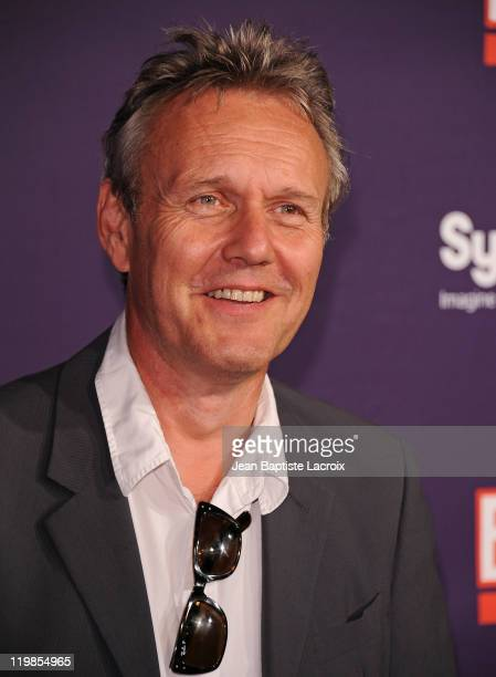 Anthony Head arrives at SyFy/E ComicCon Party at Hotel Solamar on July 23 2011 in San Diego California