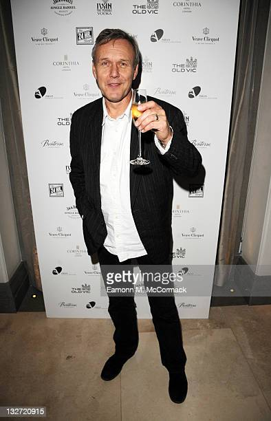 Anthony Head arrives at the postshow party The 25th Hour following The Old Vic's 24 Hour Plays Celebrity Gala 2011 during which guests drank Jack...