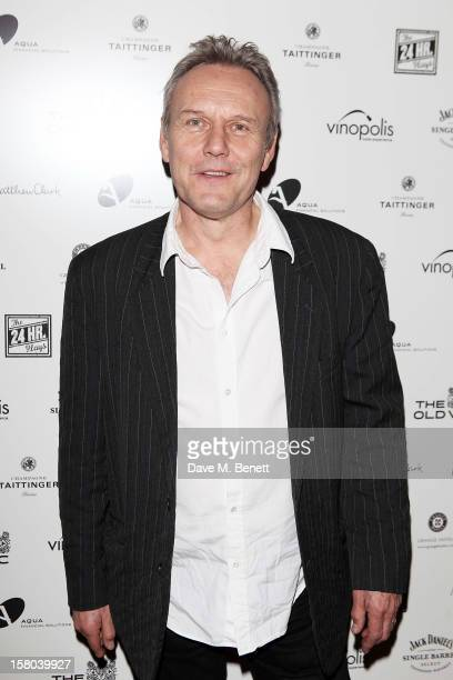Anthony Head attends an after party celebrating the 24 Hour Musicals Gala Performance at Vinopolis on December 9 2012 in London England