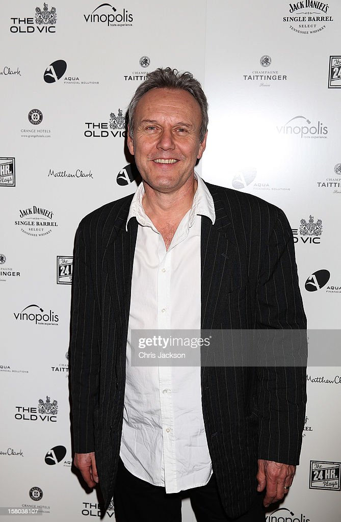 Anthony Head attends the post-show party, The 25th Hour, following The Old Vic's 24 Hour Musicals Celebrity Gala 2012 during which guests drank Jack Daniels Single Barrel, Curtain Raiser cocktails in The Great Halls, Vinopolis, Borough on December 9, 2012 in London, England.