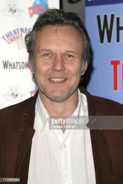 Anthony Head during Theatregoers' Choice Awards 2006 at Planet Hollywood in London Great Britain