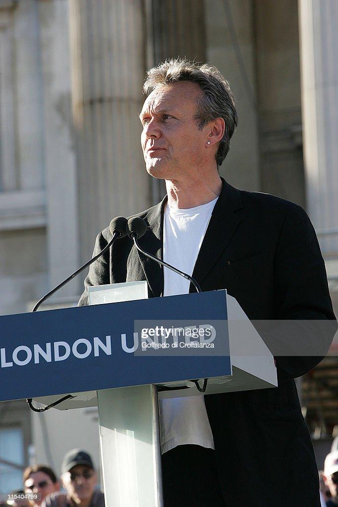 Vigil in Trafalgar Square to Remember the Victims of the London Terrorist