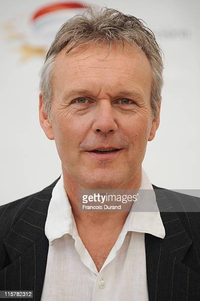 Anthony Head poses during a photocall for the TV show 'The Adventures Of Merlin' during the 2011 Monte Carlo Television Festival held at the Grimaldi...