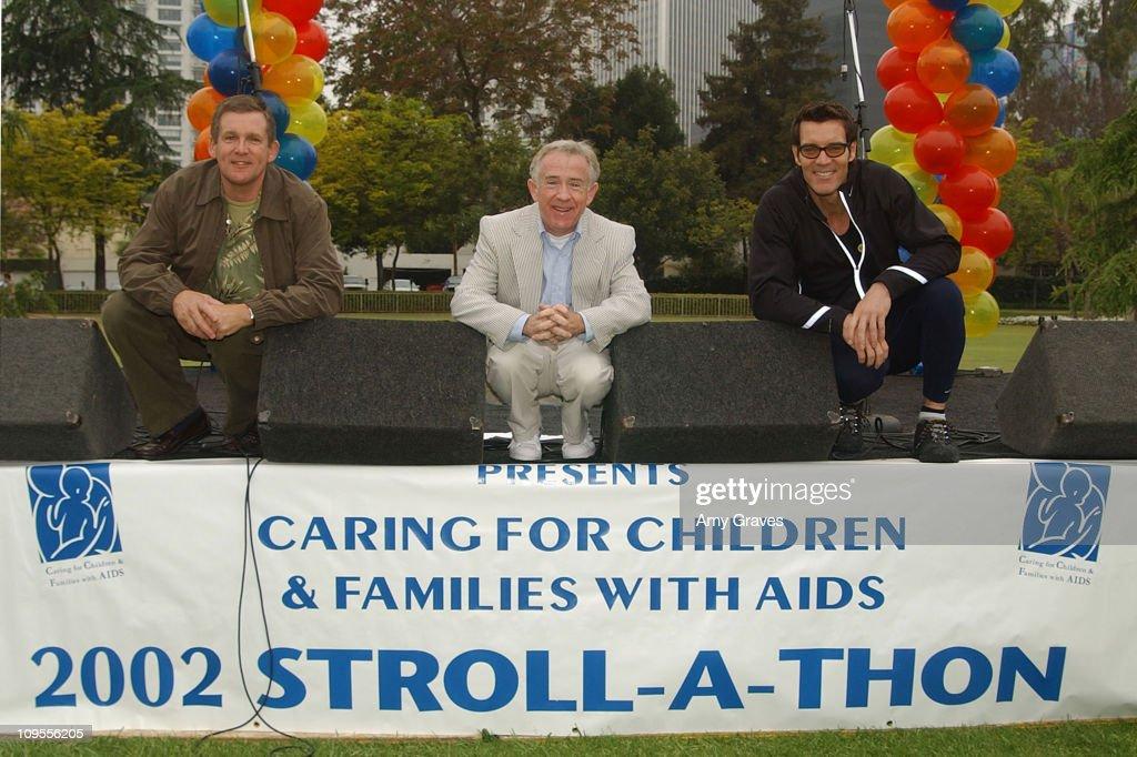 Anthony Heald (L), Leslie Jordan & Tony Horton