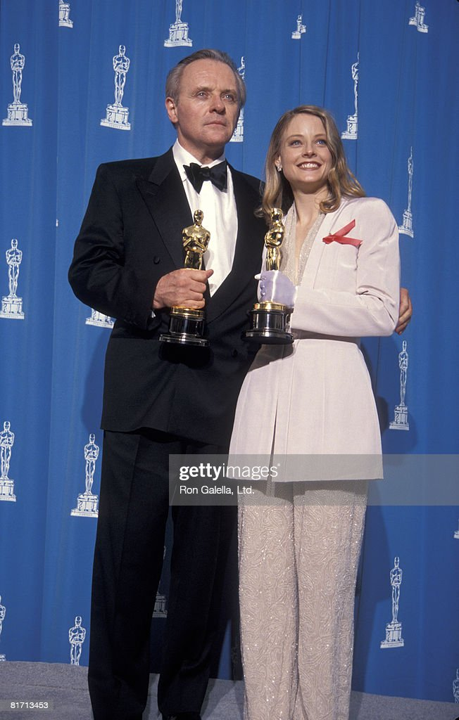 Anthony Hopkins and <a gi-track='captionPersonalityLinkClicked' href=/galleries/search?phrase=Jodie+Foster&family=editorial&specificpeople=204488 ng-click='$event.stopPropagation()'>Jodie Foster</a>