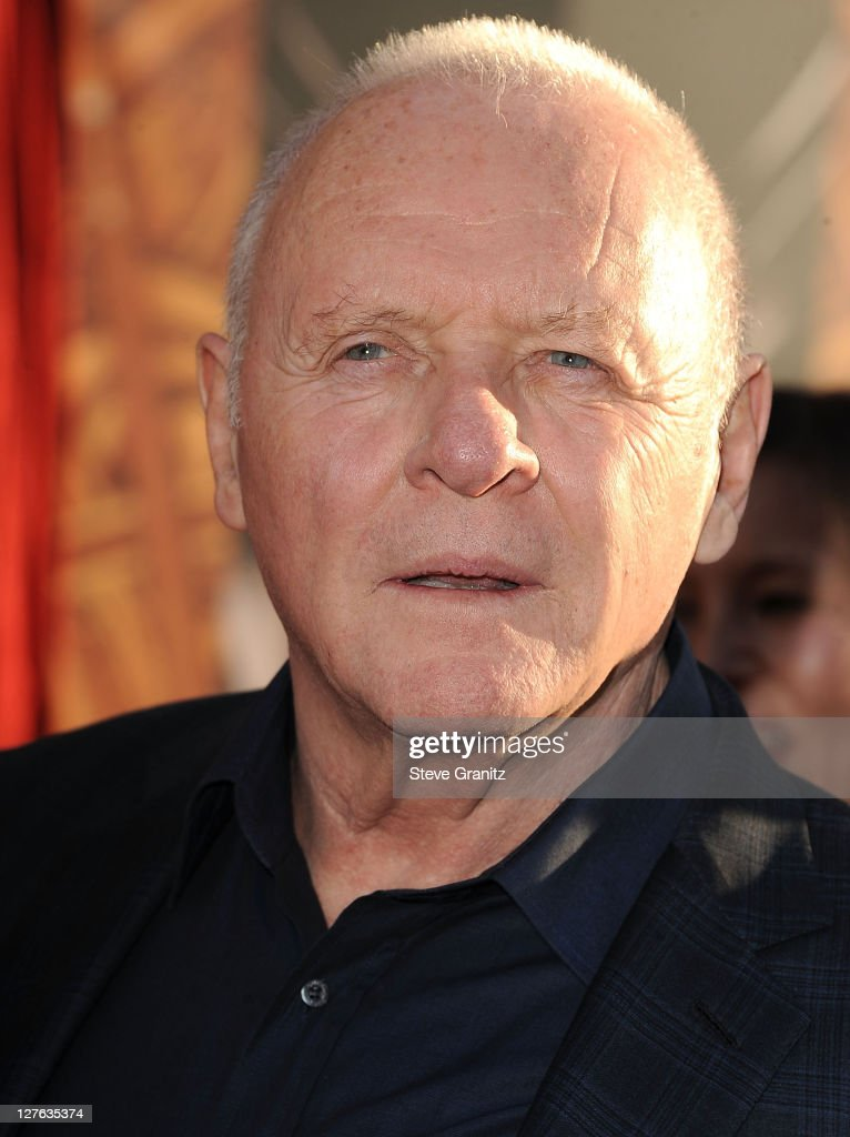 Anthony Hopkins attends the 'Thor' Los Angeles Premiere at the El Capitan Theatre on May 2, 2011 in Hollywood, California.
