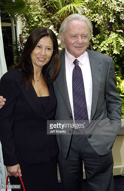 Anthony Hopkins during 11th Annual Premiere Women In Hollywood Lunch at Four Seasons in Beverly Hills California United States