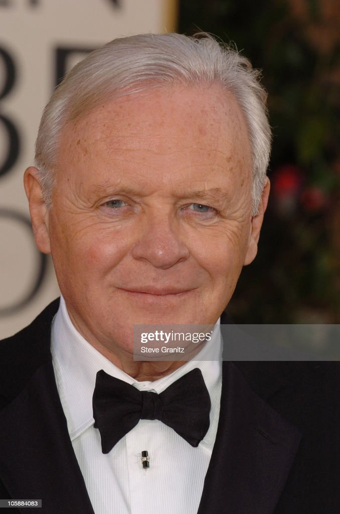 Anthony Hopkins during The 63rd Annual Golden Globe Awards - Arrivals ...