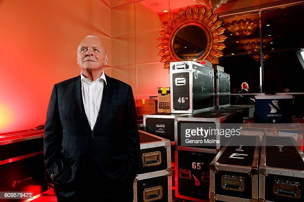 Anthony Hopkins of 'Westward' is photographed for Los Angeles Times on July 30 2016 in Los Angeles California PUBLISHED IMAGE CREDIT MUST READ Genaro...