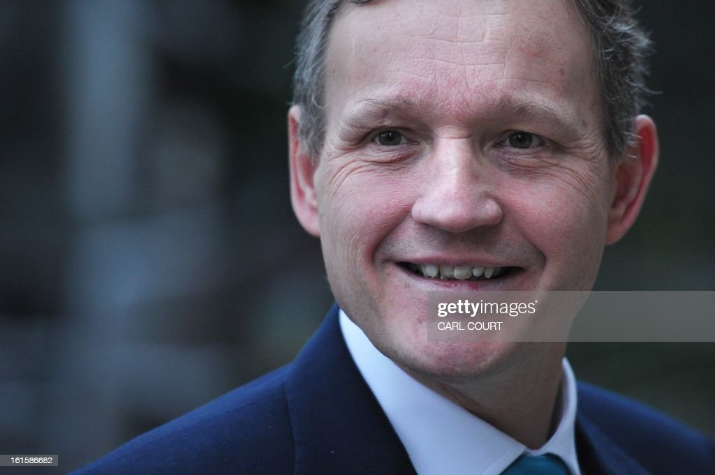 Anthony Jenkins, Group Chief Executive of Barclays bank, arrives for a media conference in central London on February 12, 2013. Barclays said it intended to cut at least 3,700 jobs this year and the bank, hit by the Libor rate-rigging scandal, added that it had plunged into an annual net loss.